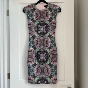 Ted Baker London Floral Kaleidoscope Dress